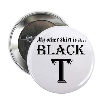 "Black T 2.25"" Button"
