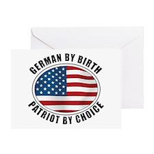 German By Birth Greeting Card