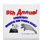 Panda Manatee Roast Tile Coaster