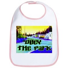 Obey The Trailer Park Bib