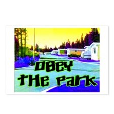 Obey The Trailer Park Postcards (Package of 8)