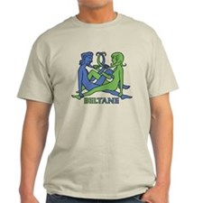 Beltane Knot T-Shirt (blue/green)