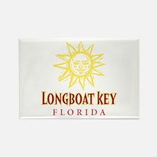 Longboat Key Sun - Rectangle Magnet
