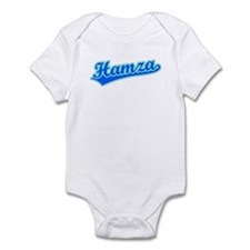 Retro Hamza (Blue) Infant Bodysuit