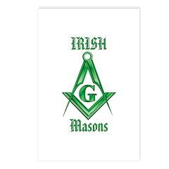 The Irish Masons Postcards (Package of 8)