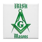 The Irish Masons Tile Coaster