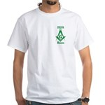 The Irish Masons White T-Shirt