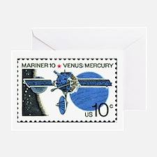 Space Stamp Greeting Card