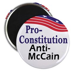 Constitution McCain Magnets (10 pack)