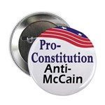 Pro-Constitution Anti-McCain Button