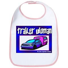 Trailer Woman Bib
