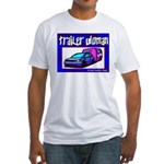 Trailer Woman Fitted T-Shirt