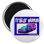 Trailer Woman Magnet