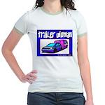 Trailer Woman Jr. Ringer T-Shirt
