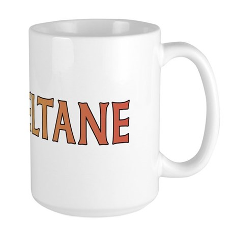 Beltane Knot Large Mug (red/orange)
