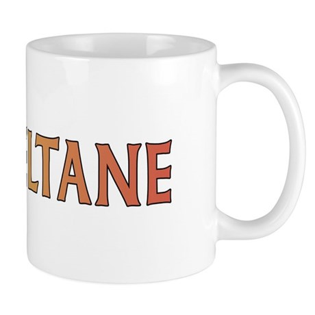 Beltane Knot Mug (red/orange)