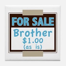 For Sale Brother $1 As Is Tile Coaster