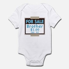 For Sale Brother $1 As Is Infant Bodysuit