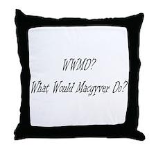 Unique Macgyver Throw Pillow
