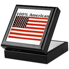 100% American Keepsake Box