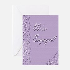 We're Engaged 2L Greeting Cards (Pk of 20)