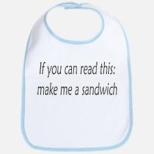 Unique Sandwich Bib