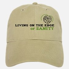 Living on the Edge Baseball Baseball Cap