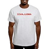 Ambulance t shirt Mens Light T-shirts