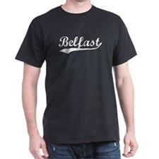Vintage Belfast (Silver) T-Shirt