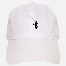 """Salty Fly Rodder"" Baseball Baseball Cap"