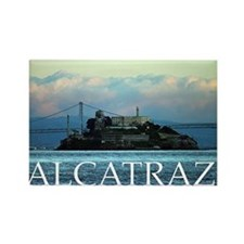 Alcatraz Rectangle Magnet