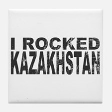 I Rocked Kazakhstan Tile Coaster