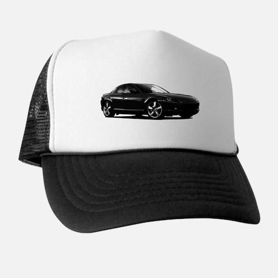 Black RX-8 Trucker Hat