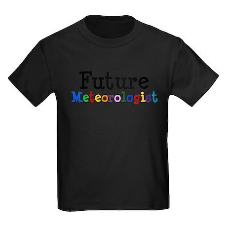 Meteorologist Kids Dark T-Shirt