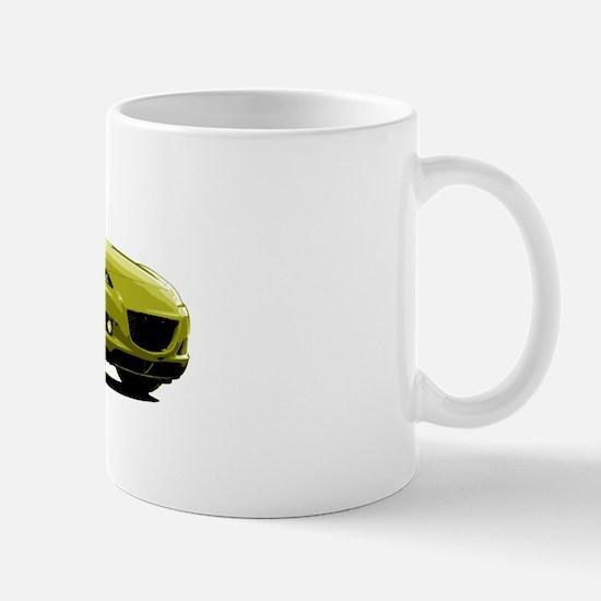 Yellow RX-8 Mug