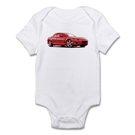 Red RX-8 Infant Bodysuit