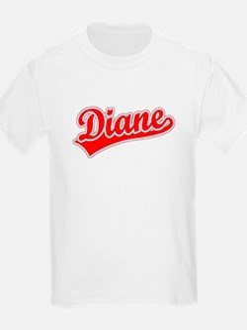 Retro Diane (Red) T-Shirt