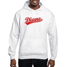 Retro Diane (Red) Hoodie Sweatshirt