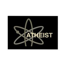 ATHEIST DARK Rectangle Magnet (100 pack)