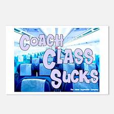 Coach Class Sucks Postcards (Package of 8)