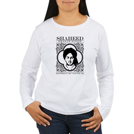 Shaheed Bhagat Singh. Women's Long Sleeve T-Shirt