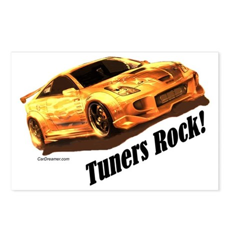 """""""Tuners Rock"""" Postcards (Package of 8)"""