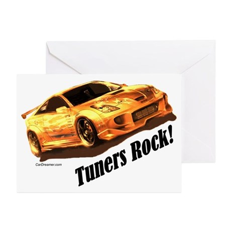 """""""Tuners Rock"""" Greeting Cards (Pk of 10)"""