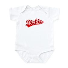 Retro Dickie (Red) Infant Bodysuit