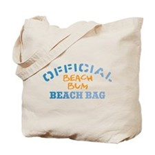 Official Beach Bum Tote Bag