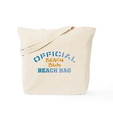 Official Beach Bum Tote Bag