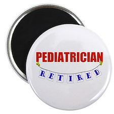 """Retired Pediatrician 2.25"""" Magnet (100 pack)"""