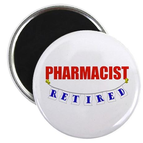 Retired Pharmacist Magnet