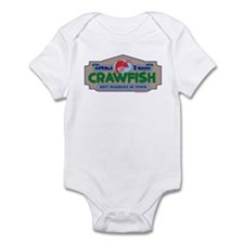 Crawfish Infant Bodysuit