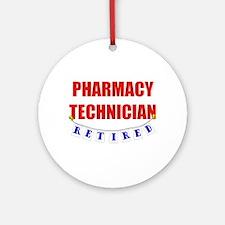 Retired Pharmacy Technician Ornament (Round)
